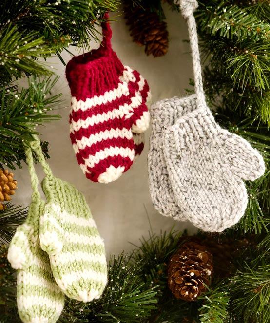 Вязание новогодних подарков своими руками
