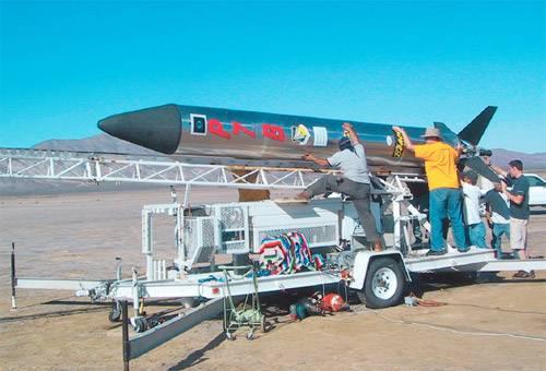 Ракета на сахарном топливе