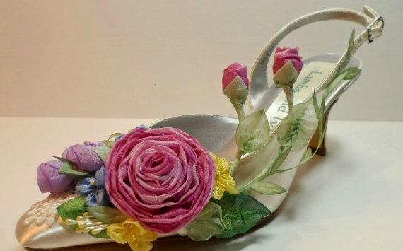 Цветы из ткани для украшения…