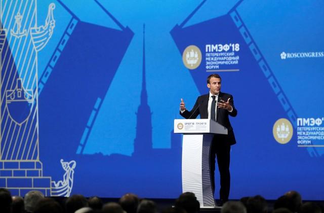 Макрон: ЕС нужен финансовый и военный суверенитет