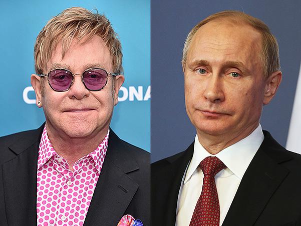 Элтон Джон жаждет встретиться с Путиным