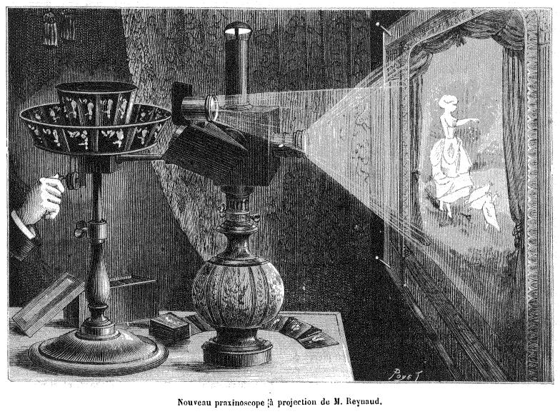 Оптический театр Эмиля Рейно и первые мультфильмы.