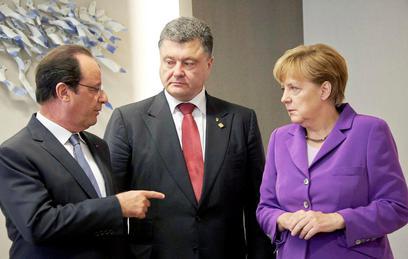 Порошенко попросил Олланда пустить украинцев на Евро-2016