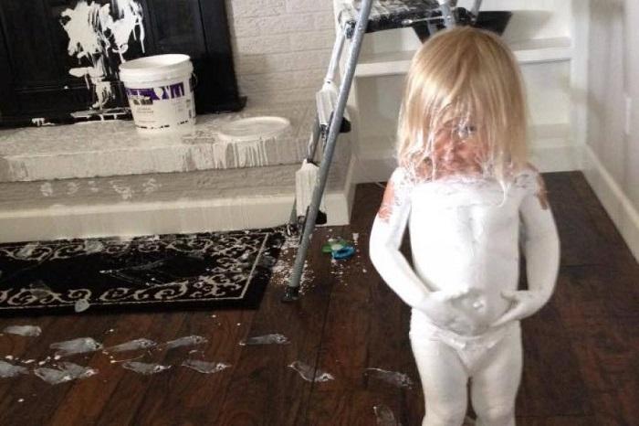 Если малыш притих, беды не миновать! 15 детских шалостей, от которых можно получить шок!