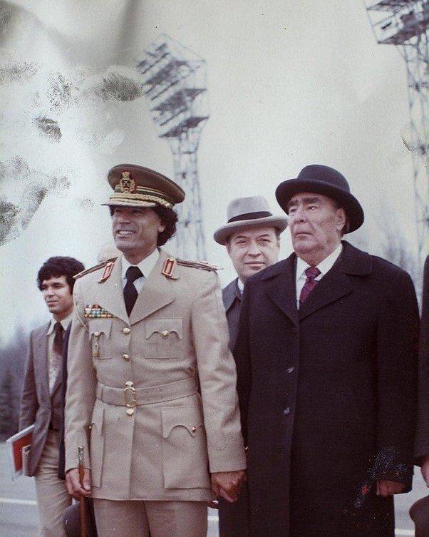 День памяти Муаммара Каддафи…