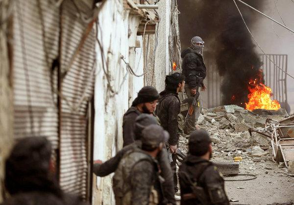 Боевики собираются ударить в тыл сирийской армии