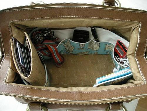 Как самой сшить органайзер для сумки своими руками