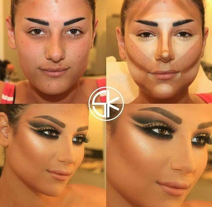 Чудо макияжа от визажиста Самира Хузами