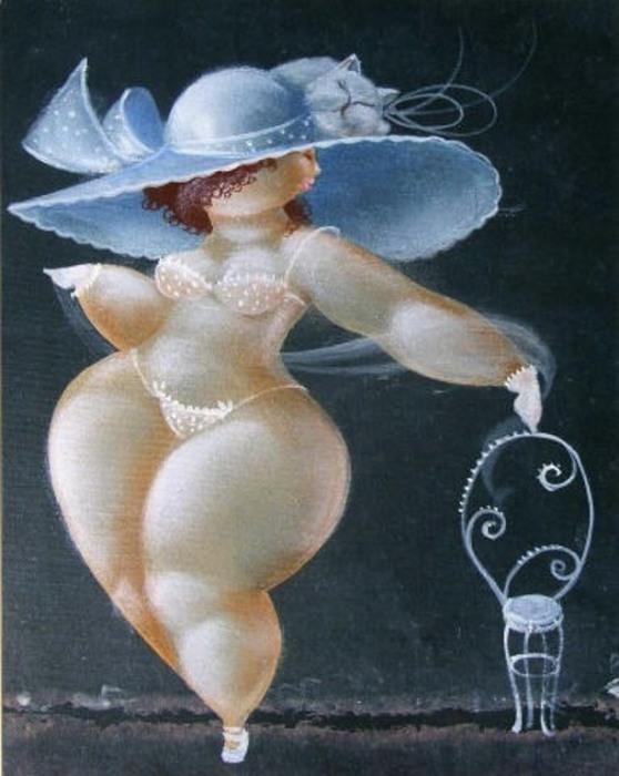 Очаровательные пампушечки на картинах итальянского художника