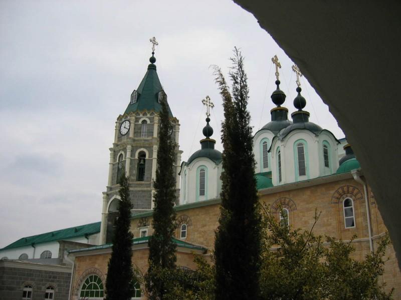 Пантелеимонов монастырь афон