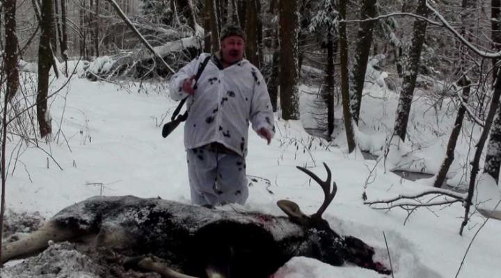 Охота в январе