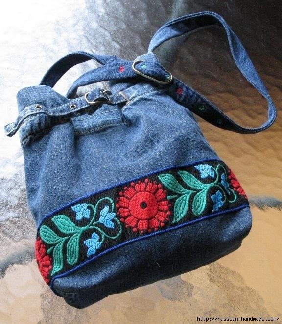 Модные сумки из старых джинсов (49) (576x660, 249Kb)