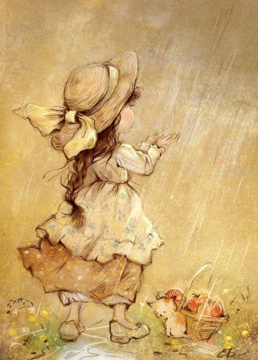 Екатерина Бабок... Сказочные иллюстрации...