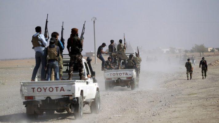 Битва за завод Джафра: десятки боевиков ударили по позициям союзников США