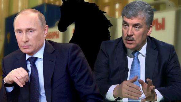 За Грудинина – 80%, за Путин…