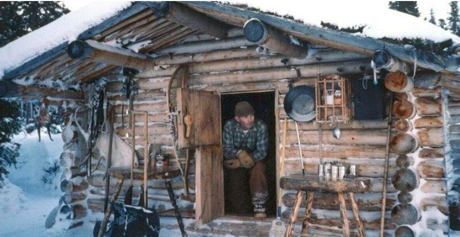 Ричард Проеннек: пенсия на Аляске в собственном срубе