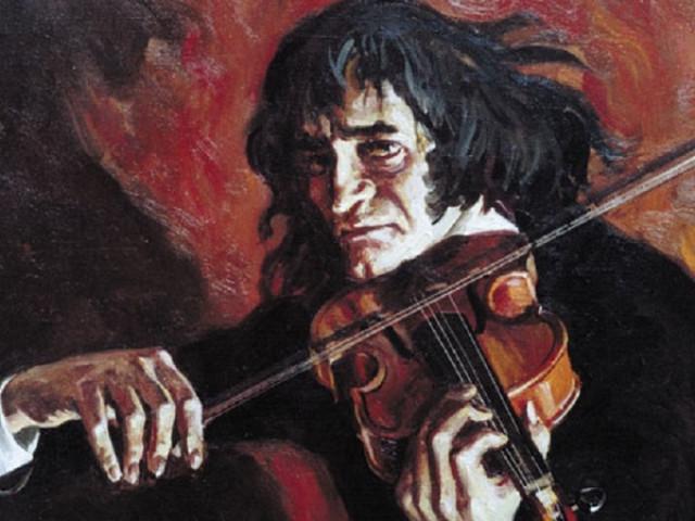Сатанист, жадина и великий скрипач Никколо Паганини