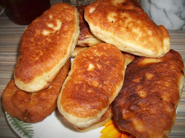 Жареные пирожки на молоке рецепт фото