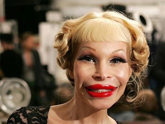 Ужасы макияжа. Слабонервным не смотреть!