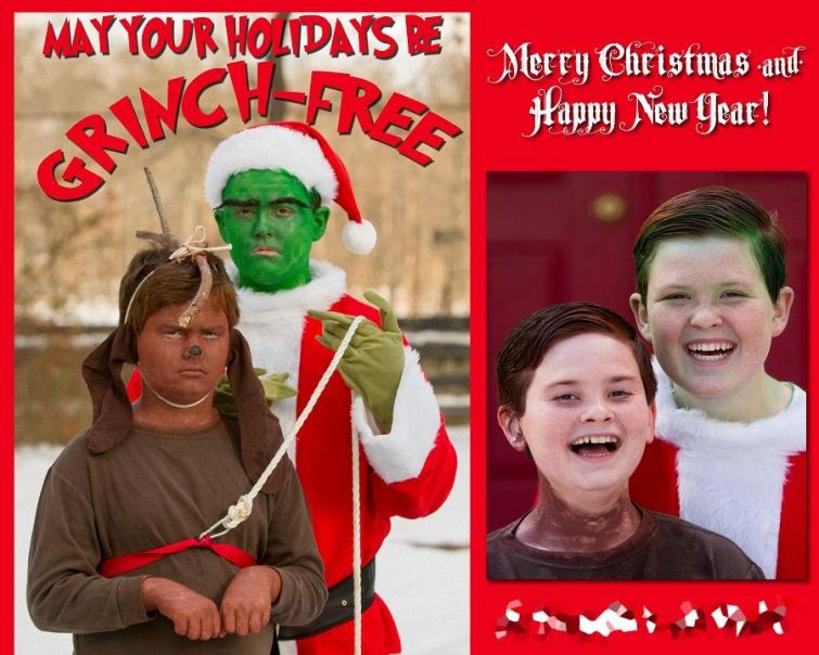 25 нелепых семейных рождественских кадров, за которые можно сгореть со стыда