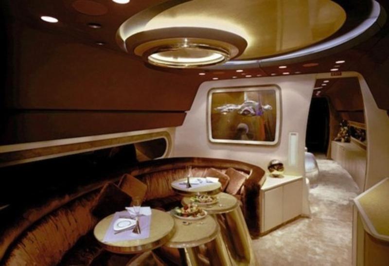 privatejets05 Роскошные частные самолеты сильных мира сего