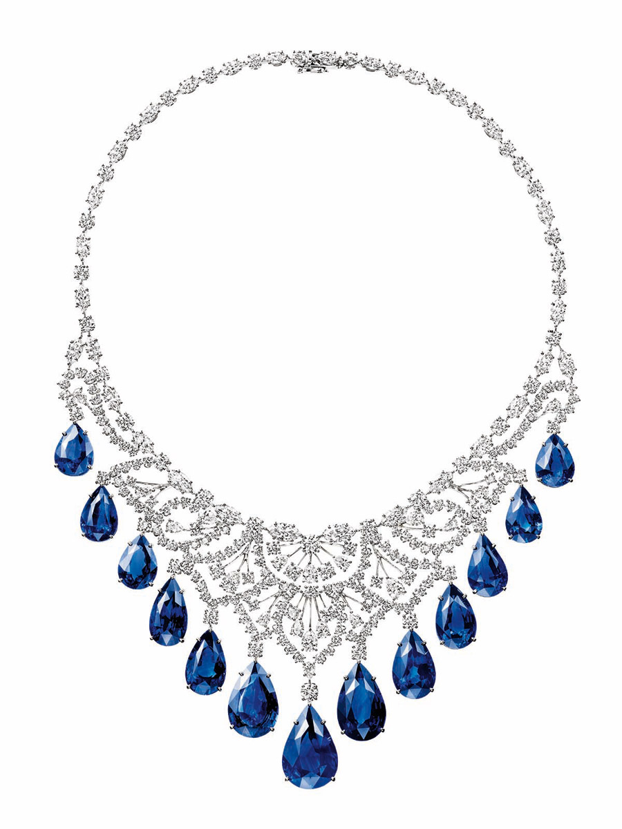 Harry Winston's gorgeous sapphire and diamond c
