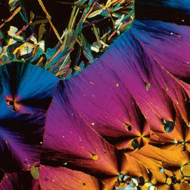 кристаллы гормона серотонина