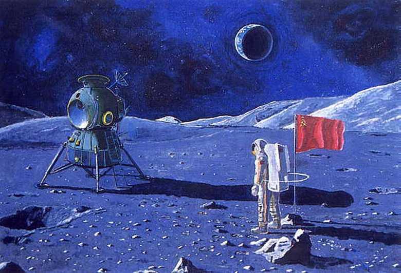 Появились доказательства того, что советские космонавты первыми вступили на поверхность Луны