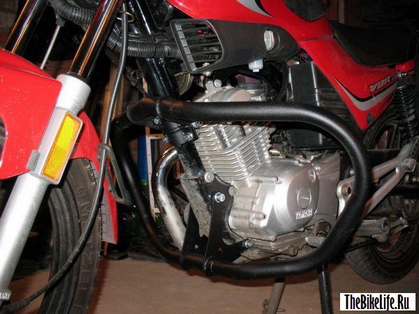 Боковые дуги для мотоцикла.