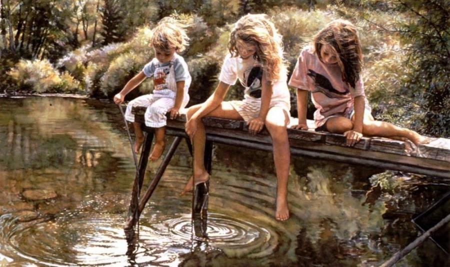 Красивые картины акварелью