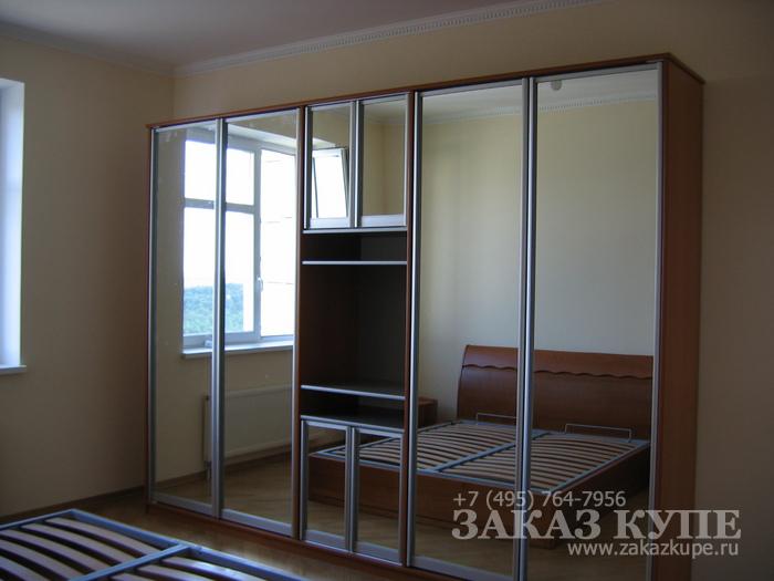 Фото14 - встроенный шкаф купе в спальню