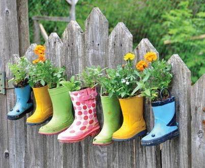 Как украсить огород своими... фото как украсить огород