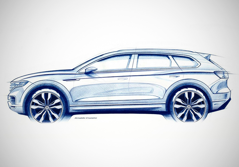 Новый Volkswagen Touareg: пе…
