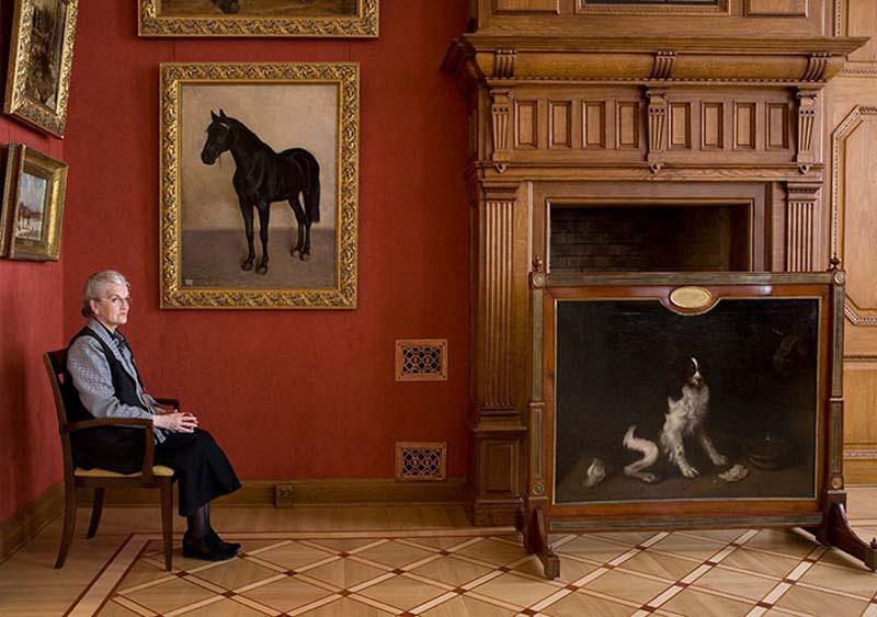 Фотосерия «Смотрительницы российских музеев» от американского фотографа