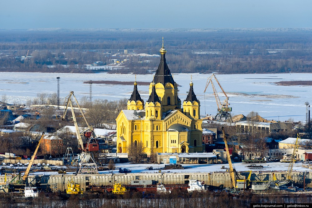 Сказочный зимний Нижний Новгород