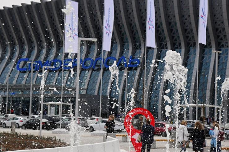 Новый аэропорт Симферополя о…
