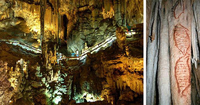 Самые красивые пещеры с наскальными рисунками