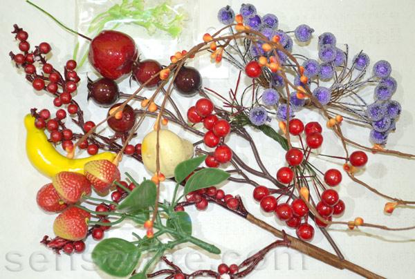 Как сделать искусственные ягоды