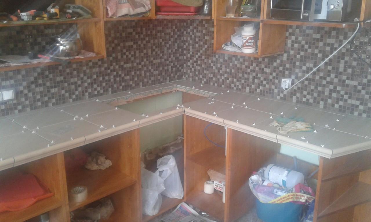 Кухонная столешница своими руками из мебельного щита своими руками