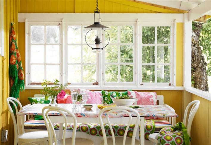 Интерьер летнего домика