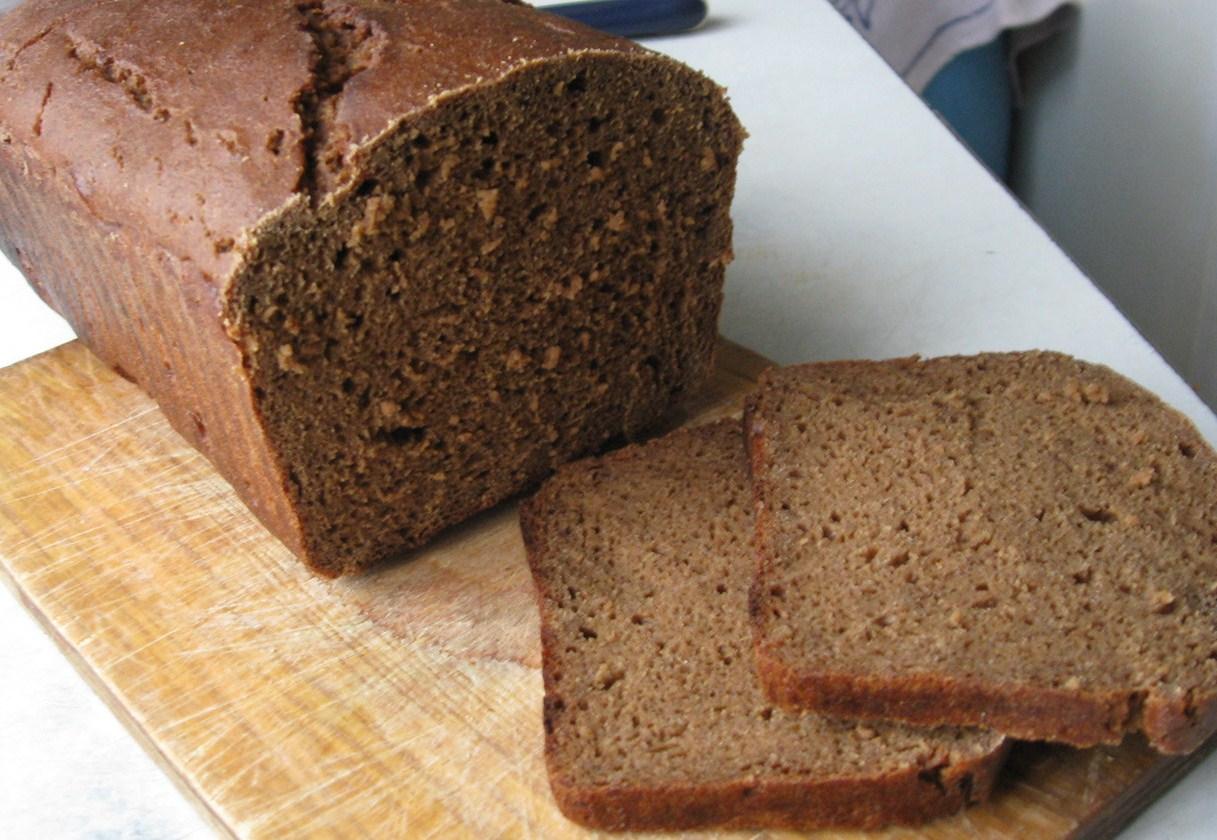 Черный хлеб в домашних условиях в хлебопечке