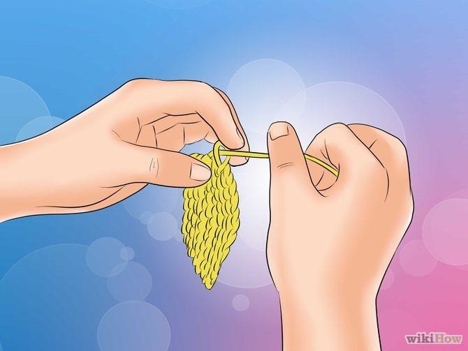 Стежки при вязании