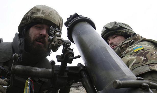 Украинские силовики открыли огонь по югу ДНР