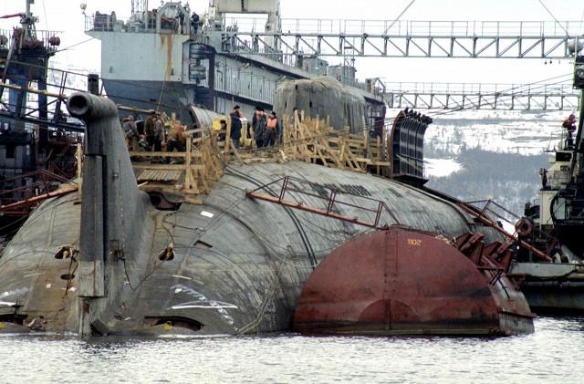 катастрофы подводных лодок курск видео