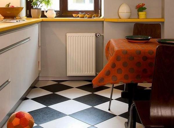 Плитка на маленькую кухню дизайн