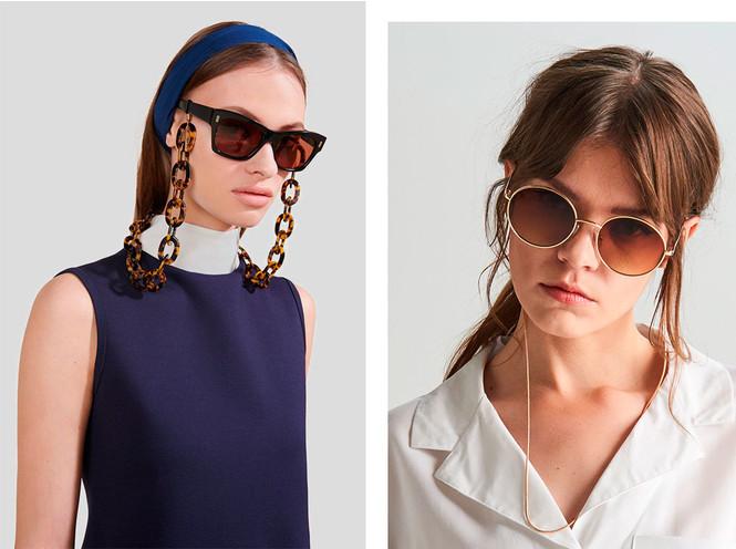 Стильный прием: 10 цепочек, которые сделают ваши очки еще моднее