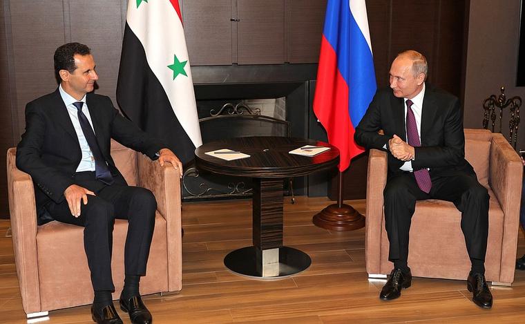 Асад объяснил Путину причину крушения Ил-20 в Сирии