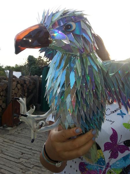 Пластиковых бутылок как сделать орел
