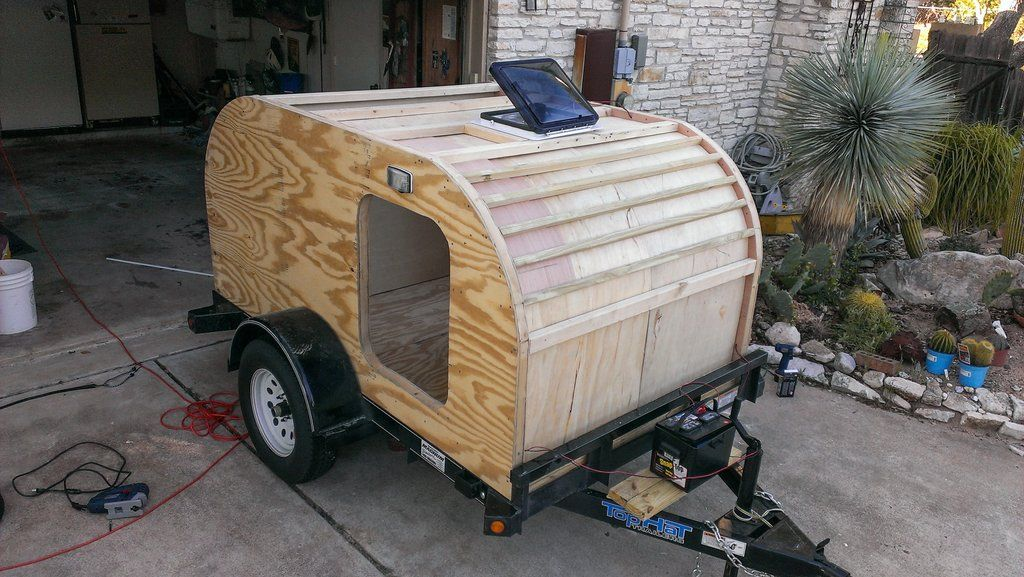 Постройка дома на колесах