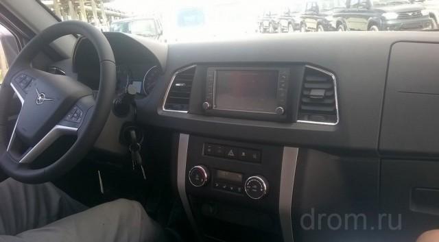 Появились фото интерьера обновлённого УАЗ Патриот